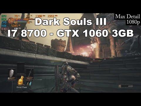 Dark Souls 3 - GTX 1060 3GB - I7 8700 - CYBERPOWERPC Review