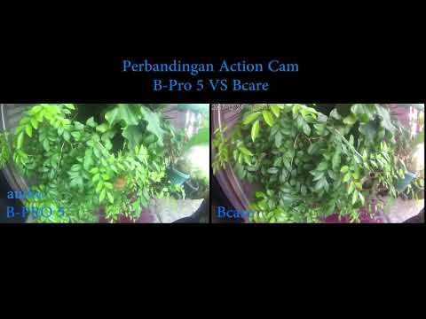 B-Pro 5 VS Bcare | Komparasi audiovideo action cam