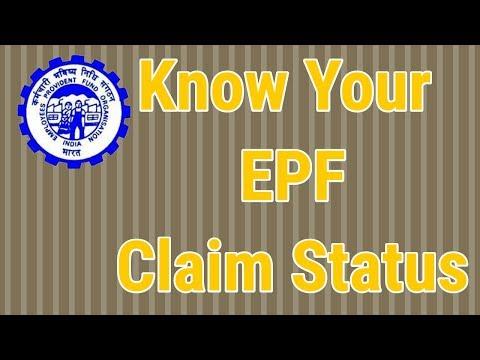 How to know your epf claim status ?  pf में अपना क्लेम status कैसे जाने ?