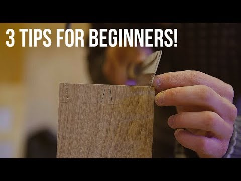 3 TIPS for BEGINNER Woodworkers/Makers! (+bonus tip)
