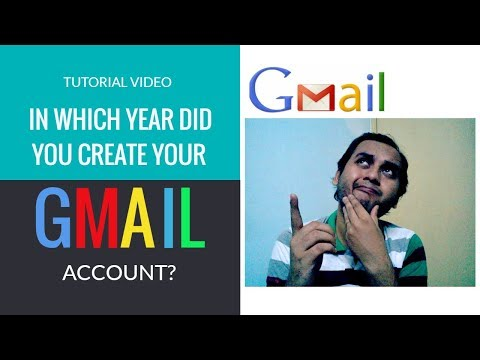 How To Know When I Created My Gmail| How To Find Gmail Account Creation| Gmail Creation Date Finder