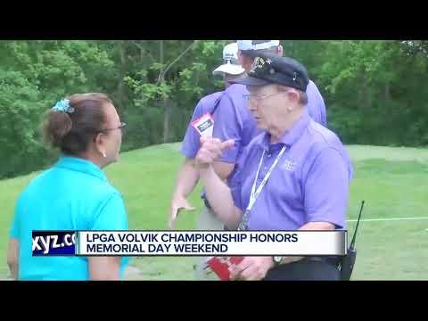 LPGA Volvik Championship honors Memorial Day Weekend
