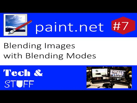 Paint.Net Tutorial 7: Blending Images with Blending Modes