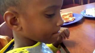 Vlog #9 Golden Coral #blackfamilyvlogger #iamnoirtv