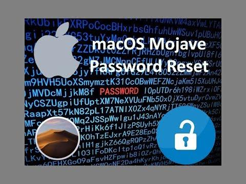 Apple macbook air , pro and iMac macOS Mojave Password Reset
