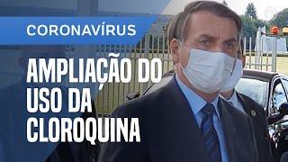 BOLSONARO VAI DISCUTIR AMPLIAÇÃO DO USO DA CLOROQUINA COM TEICH