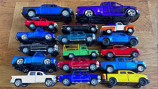 Various pickups Trucks From The Floor - Diecast Cars