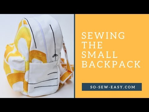 Sewing the Small Backpack