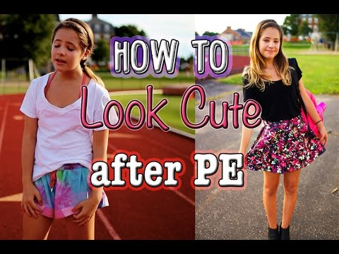 My Post Gym Routine- How to look cute after PE