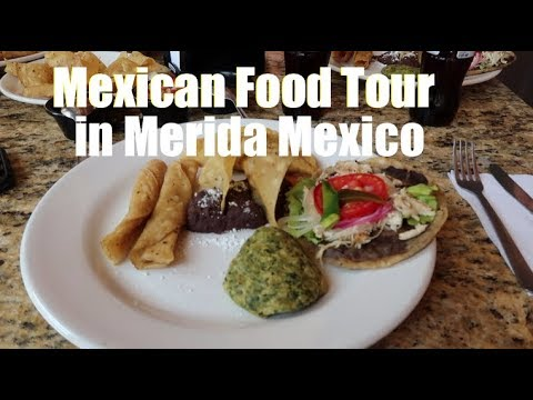 Eating Snake Heads In Merida Mexico On a Food and Picture Sight Seeing Tour!