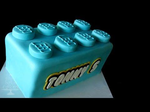 LEGO cake - TUTORIAL