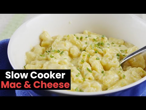 Incredibly Cheesy Slow Cooker Mac and Cheese