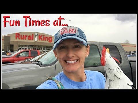 Rural King Fun in Sweetwater!