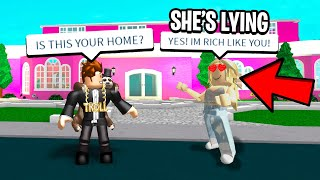 I Caught A GOLD DIGGER Pretending to be RICH! (Roblox)