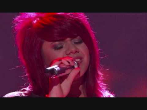 Allison Iraheta Performs Dont Want to Miss a Thing on American Idol - Top 7