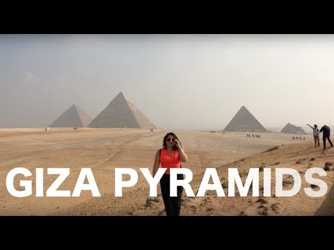 Egypt pyramids - Sphinx of Giza before you go -  Great pyramids of giza