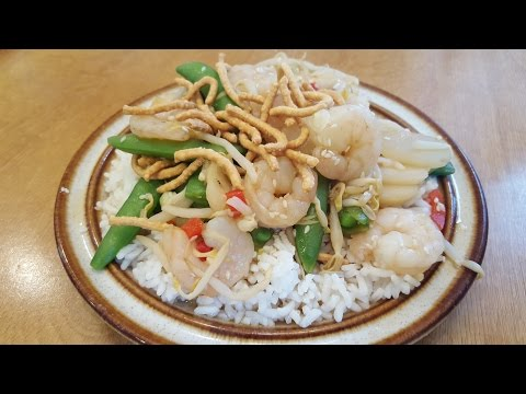 A Geek's Guide to Easy Microwave Cooking:Episode 135:Shrimp Chow Mein