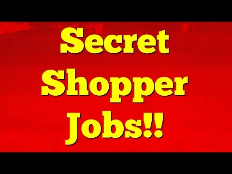 How To Get Paid To Be A Mystery Shopper -  Easy Money Using Your Cell Phone!!