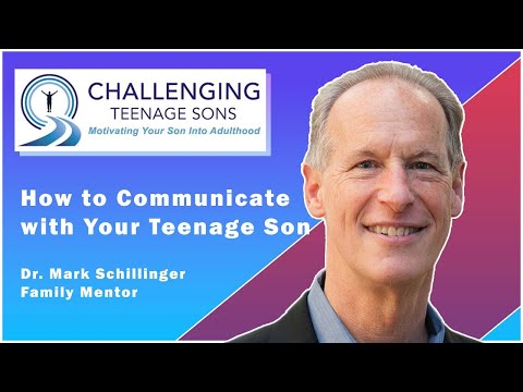 How to Communicate with Your Teenage Son