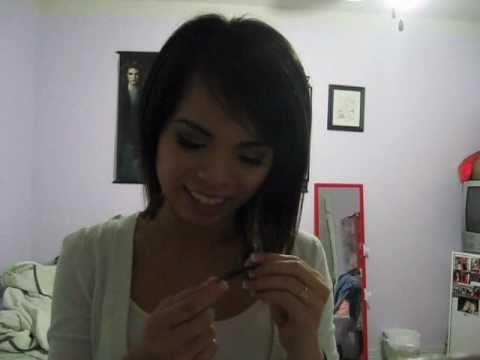 ASymmetrical hair cut