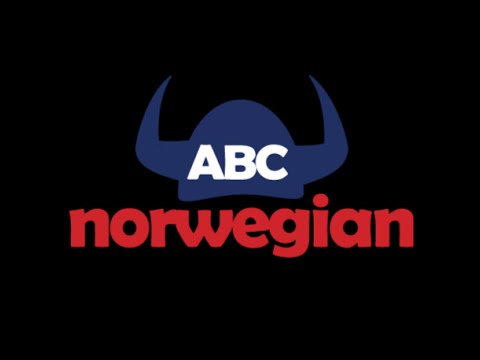 Learn Norwegian language for free - 1 lesson