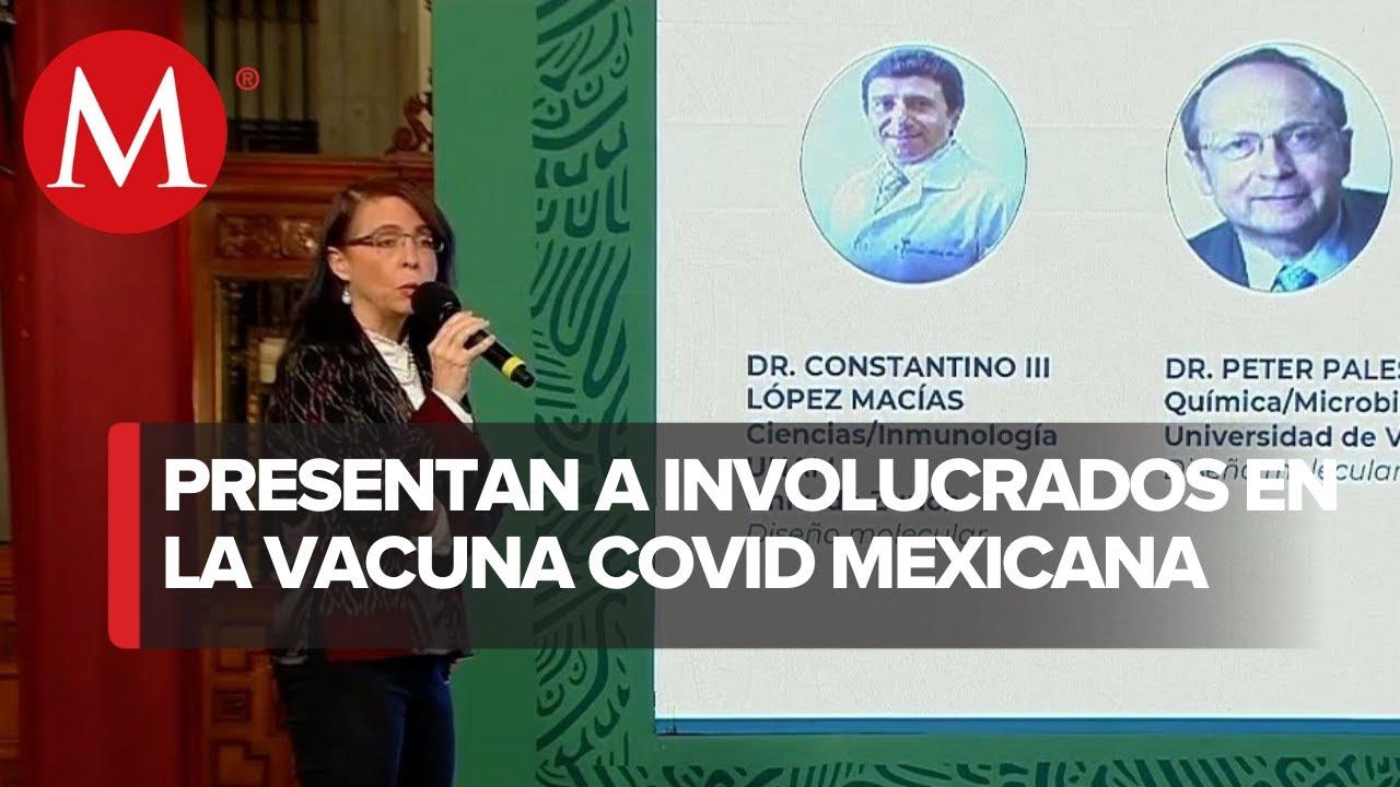Ellos son los científicos que desarrollan Patria, vacuna anticovid de México