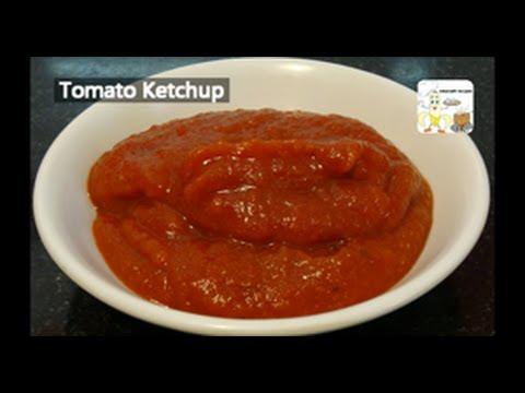 Tomato Ketchup Recipe - Hot and Spicy Tomato Ketchup