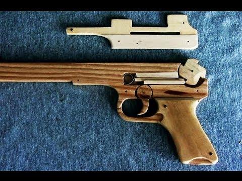 Legotm Rubber Band Pistol Trigger Mechanism Rubber Band Gun
