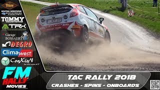 TAC rally 2018 | Crashes - Spins - Mistakes - Onboards [HD]