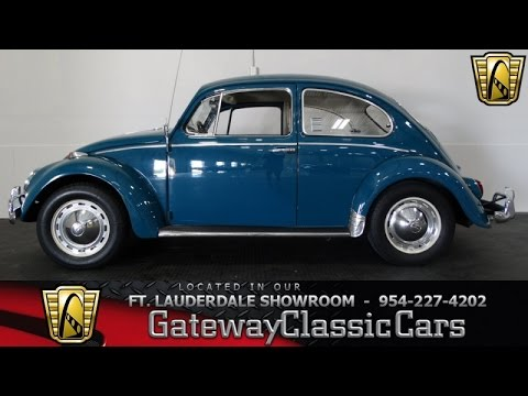 1965 Volkswagen Beetle - Gateway Classic Cars of Fort Lauderdale #132