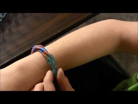 FishTail Stretch Band Bracelet (Rainbow Loom) - Easy