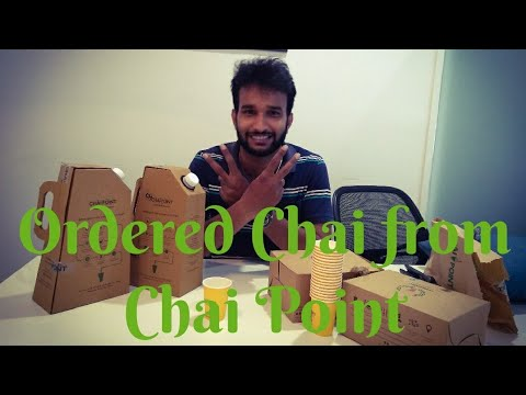 Ordering Chai from Chai Point
