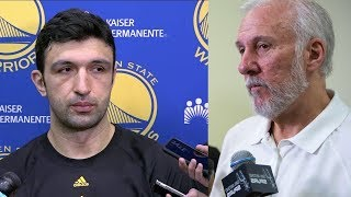 Zaza Pachulia Blames Coach Pop for DEATH THREATS Against His Family