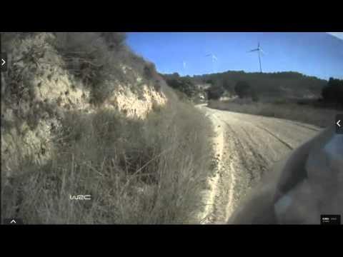Onboard Kubica rally Catalunya-costa Daurada ss3 2015