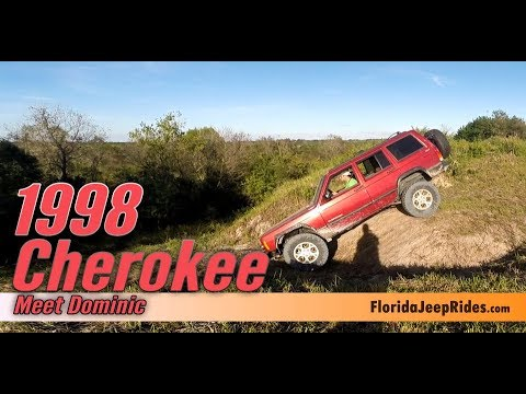 Dominic and his 1998 Jeep Cherokee - Every Jeep has a story