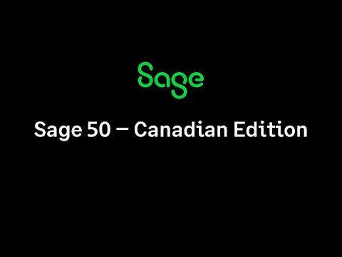 Sage 50 Accounting—Canadian Edition 2016 - Manually Activating
