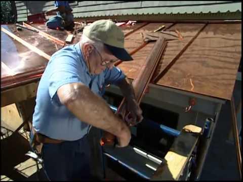 Installing Copper Gutters
