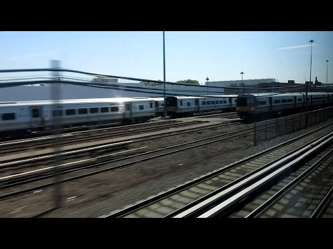 LIRR ride from Babylon to NYC Penn Station via Hicksville