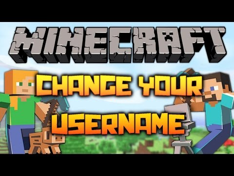 How to change your Minecraft Username! 1.7/1.8