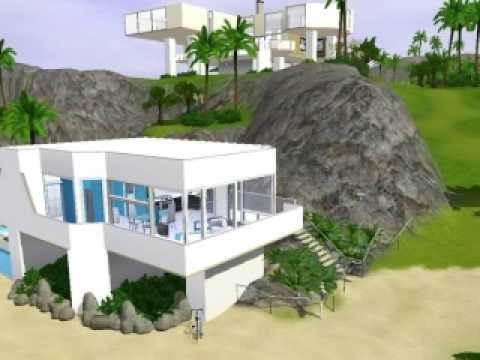 The sims 3 Modern Beach House