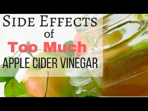 Shocking Side Effects Of Apple Cider Vinegar | Top 7 Side Effects of Too Much Apple Cider Vinegar