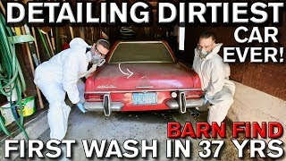 Download Detailing Dirtiest Car Ever! First Wash in 37 Years Mercedes 280 SL Video