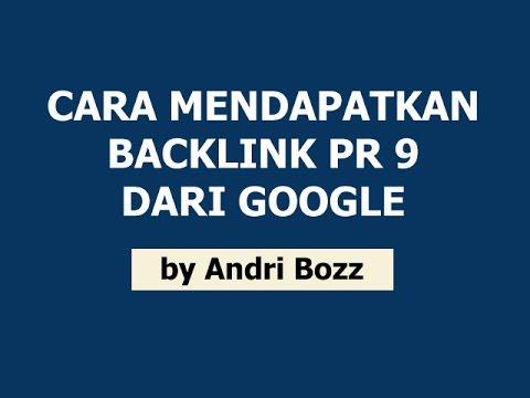 Cara Mendapatkan Backlink PR 9 Google Plus