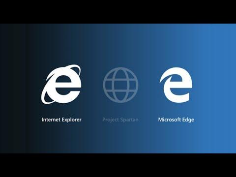 Windows 10 - Edge Browser & Internet Explorer