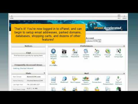 HostMetro - cPanel - How to Login to cPanel