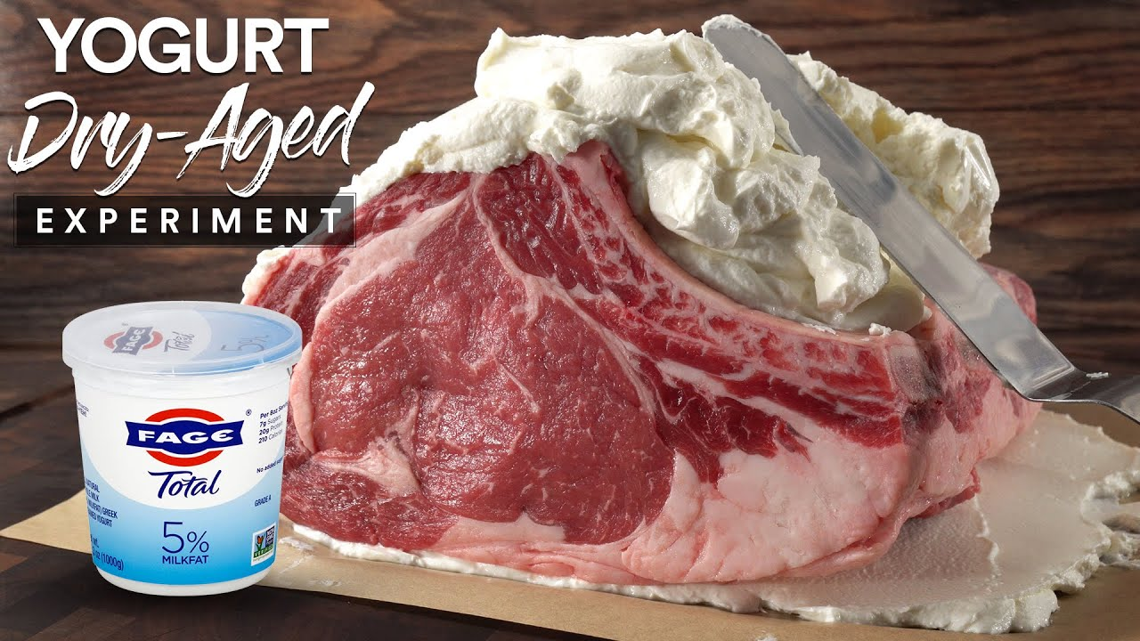 I Dry-Aged Steaks in Yogurt for 35 Days and this happened!