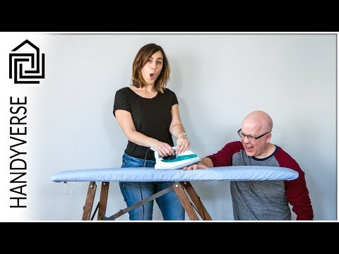 Make ironing great again! Restore and recover a 100 year old ironing board : EP 024