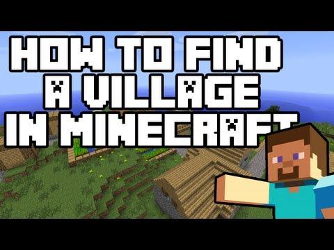 Minecraft: How to find a Village [Always Works!]