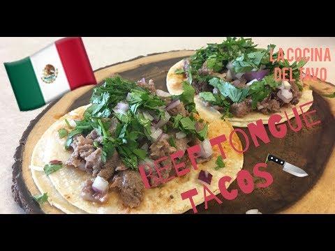 How To Make Beef Tongue Tacos (Tacos De Lengua)