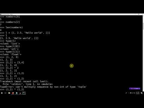 Learning Python 003: Lists, Tuples, and Dictionaries